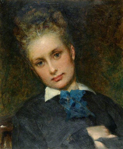 Rose Gordon Hicks | George Elgar Hicks | Oil Painting