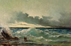 La vague | Gustave Courbet | Oil Painting