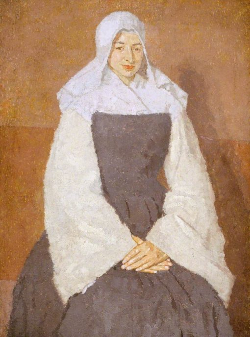 Me?re Poussepin   Gwen John   Oil Painting