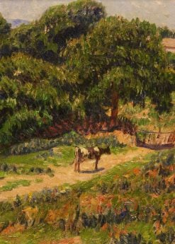 Landscape with Cow | Henry Moret | Oil Painting