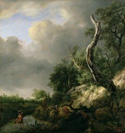 Dunes near Haalem | Jacob van Ruisdael | Oil Painting