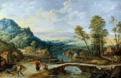 Landscape | Joos de Momper the Younger | Oil Painting