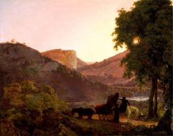 Landscape | Joseph Wright of Derby | Oil Painting