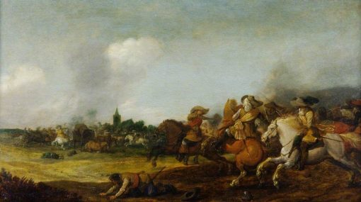 Battle Scene | Palamedes Palamedesz I | Oil Painting
