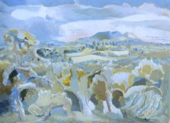 Landscape of the Malvern Distance | Paul Nash | Oil Painting