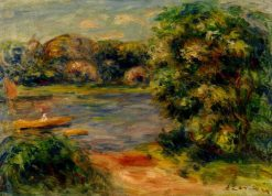 The Boat on the Lake | Pierre Auguste Renoir | Oil Painting