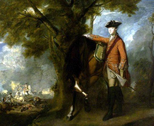 Cornet Nehemiah Winter | Sir Joshua Reynolds | Oil Painting