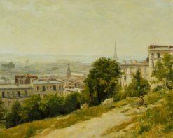 View of Paris | Stanislas LEpine | Oil Painting