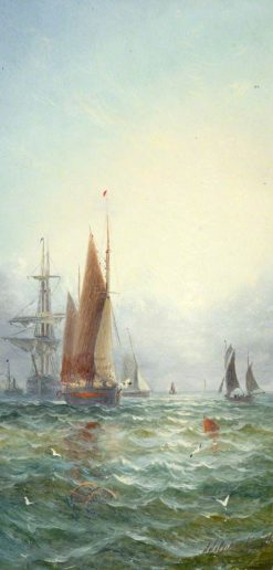 Marine Subject | William Adolphus Knell | Oil Painting