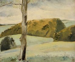 Berkshire Landscape | Paul Nash | Oil Painting
