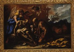 Death of Saint Paul the Hermit | Marco Ricci | Oil Painting