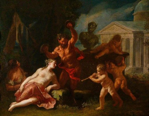 Pan and Nymphs   Paolo de' Matteis   Oil Painting