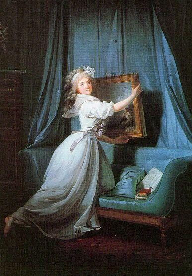 Mademoiselle Rosalie Duthé | Henri Pierre Danloux | Oil Painting