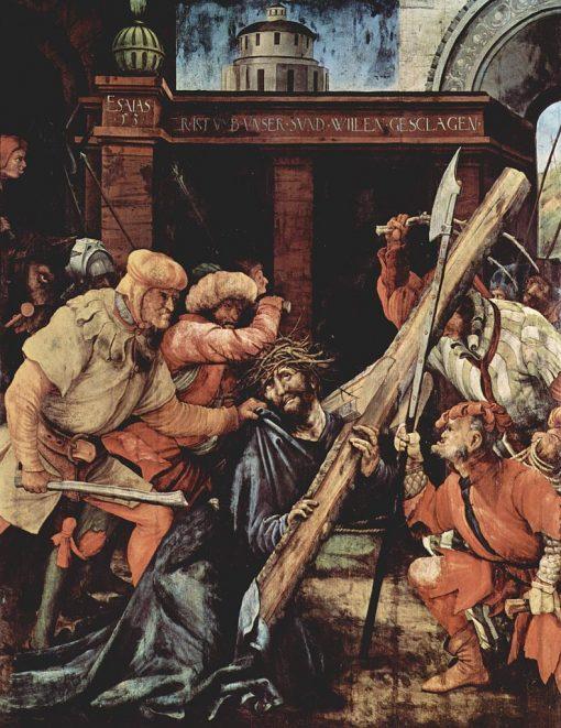 Christ Bearing the Cross (Panel from the Tauberbischofsheim Altarpiece) | Matthias Grunewald | Oil Painting