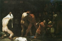 A Wrestling Match | Michiel Sweerts | Oil Painting