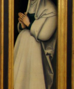 Crucifixion Triptych - The Virgin in Prayer (verso) | Lucas Cranach the Elder | Oil Painting