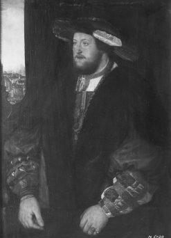 Portrait of Otto Heinrich von der Pfalz | Christoph Amberger | Oil Painting