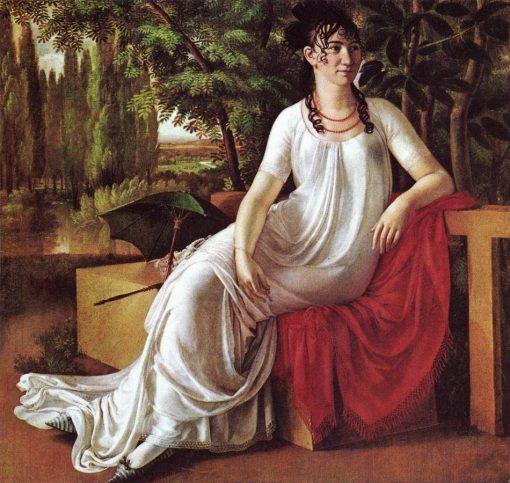 Portrait of Wilhelmine Cotta | Christian Gottlieb Schick | Oil Painting
