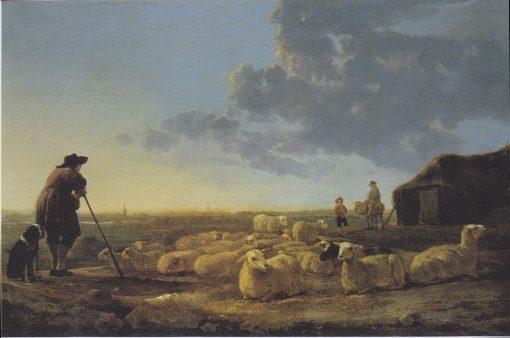 Flock of Sheep at Pasture | Aelbert Cuyp | Oil Painting