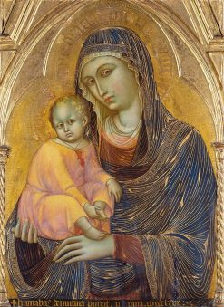 Madonna and Child | Barnaba da Modena | Oil Painting