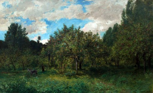 Orchard at Harvest Time | Charles Francois Daubigny | Oil Painting