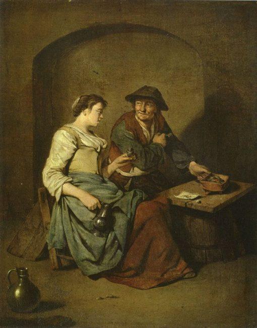 Scene at an Inn   Cornelis Pietersz Bega   Oil Painting
