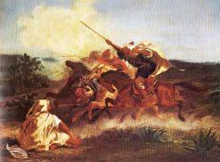 Fantasia arabe | Eugene Delacroix | Oil Painting