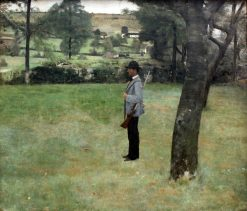 The Game Warden | Fernand Khnopff | Oil Painting
