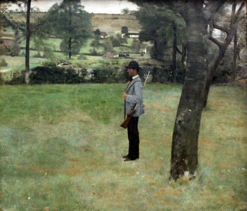 The Game Warden   Fernand Khnopff   Oil Painting