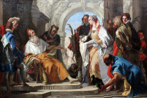 The Patron Saints of the Crotta Family | Giovanni Battista Tiepolo | Oil Painting