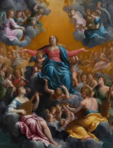 The Assumption of the Virgin | Guido Reni | Oil Painting