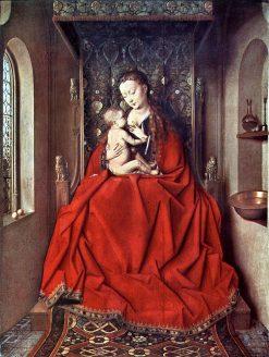 Lucca Madonna | Jan van Eyck | Oil Painting