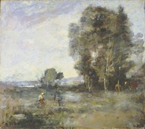 Summer Landscape | Jean Baptiste Camille Corot | Oil Painting