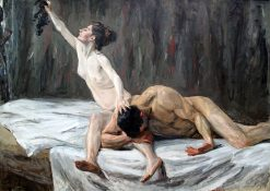 Samson and Delilah | Max Liebermann | Oil Painting
