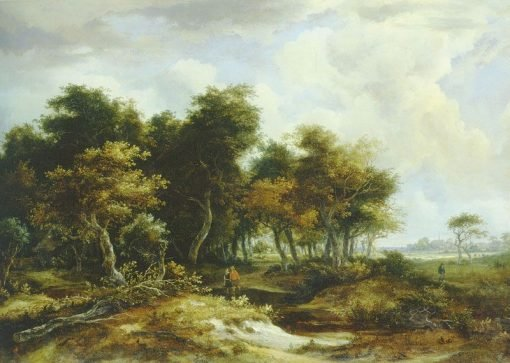 The Entrance to the Forest | Meindert Hobbema | Oil Painting