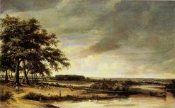 Landscape | Philips Koninck | Oil Painting