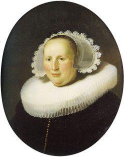 Portrait of Maertgen van Bilderbeecq | Rembrandt van Rijn | Oil Painting