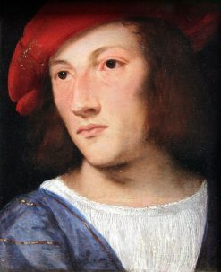 Portrait of a Young Man | Titian | Oil Painting