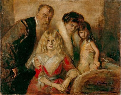 Family Portrait | Franz von Lenbach | Oil Painting
