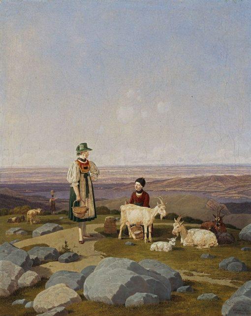 On the Geisalm | Wilhelm von Kobell | Oil Painting
