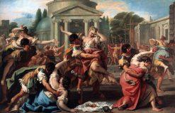 Rape of the Sabine Women | Sebastiano Ricci | Oil Painting