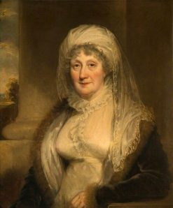 Elizabeth Sparrow of Bishton Hall | William Owen | Oil Painting