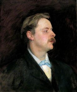 Edmund Gosse (1849-1928) | John Singer Sargent | Oil Painting