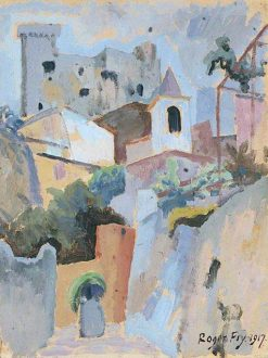 A Town in Provence | Roger Eliot Fry | Oil Painting