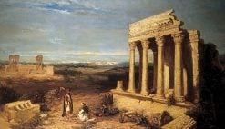 Ruined Temples at Thebes | William James Muller | Oil Painting