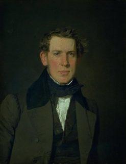 Portrait of Carl Adolf Feilberg | Christen Købke | Oil Painting