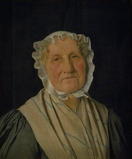 Portrait of Inger Margrethe Høyen