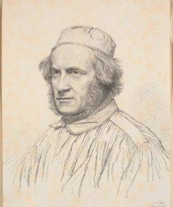 Portrait of H.W.Bissen | Christen Købke | Oil Painting