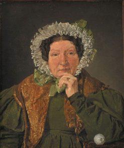 Portrait of the Artist's Mother Cecelia Margrethe Købke