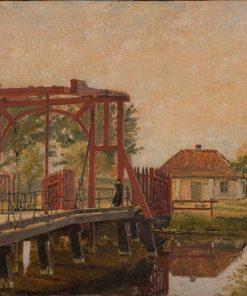The Northern Drawbridge to the Citadel in Copenhagen | Christen Købke | Oil Painting